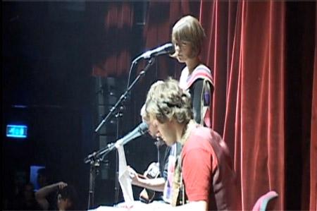La Fiancée au Festival des Inrocks 2009