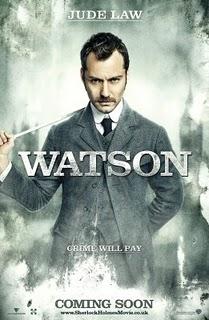 Jude Law en Dr Watson