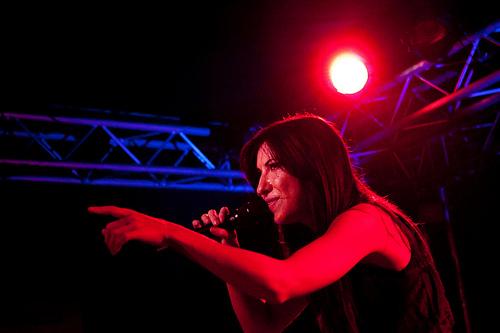 Amanda Blank au Festival des Inrocks