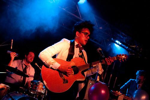 Josh Weller au Festival des Inrocks