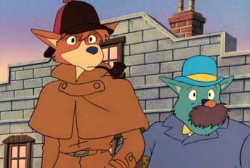 Sherlock Holmes et le Dr Watson chez Miyazaki