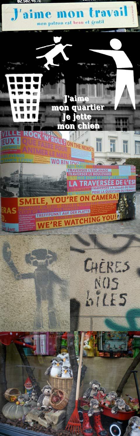 Insolites à Bruxelles