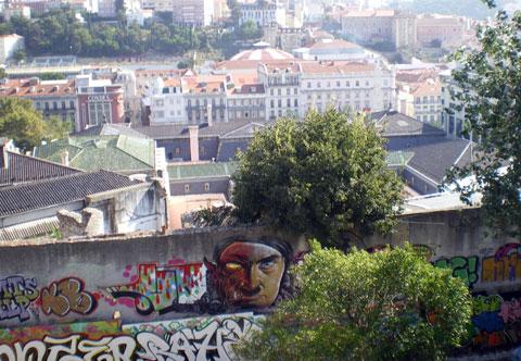 Street art à Lisbonne 3