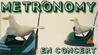 Metronomy en concert à Bordeaux