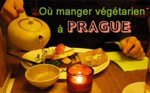 Où manger végétarien à Prague