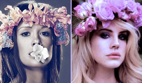 Lia Ices et Lana Del Rey