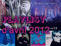 Playlist d'avril 2012