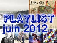 Playlist de juin 2012