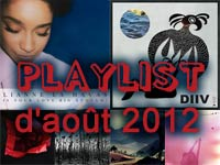 Playlist de août 2012