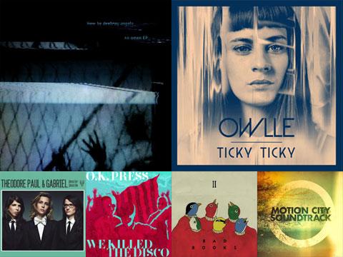 La playlist de décembre 2012