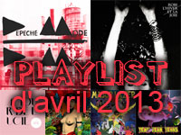 Playlist d'avril 2013