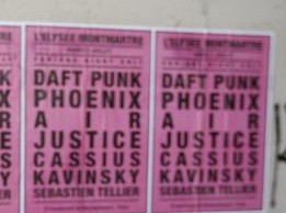 Affiche Daft Punk