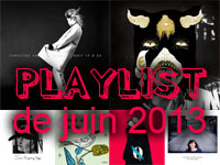 Playlist de juin 2013