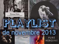 Playlist de novembre 2013