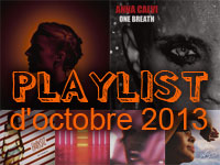 Playlist d'octobre 2013