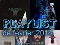 Playlist de février 2014
