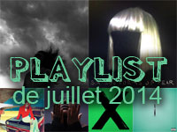 Playlist de juillet 2014