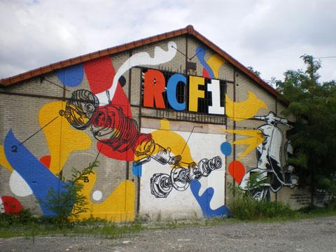 Aubervilliers - façade