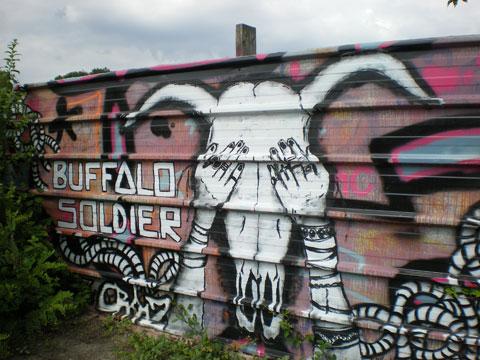 Aubervilliers - Buffalo Soldier