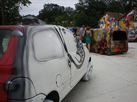 Aubervilliers - voitures