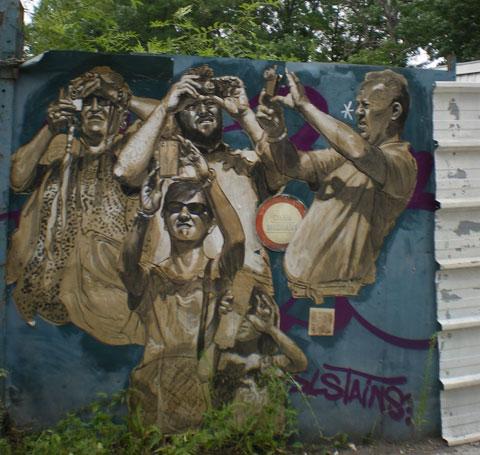 Street art au Fort d'Aubervilliers 4