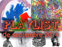 Playlist de septembre 2014