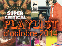 Playlist d'octobre 2014
