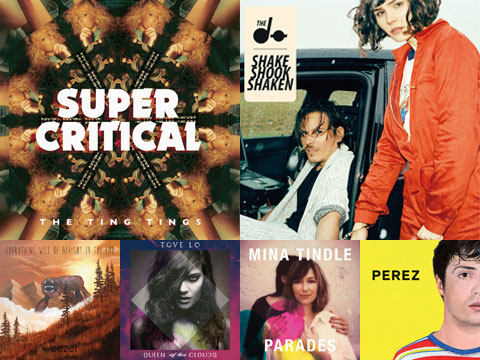La playlist d'octobre 2014
