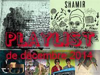 Playlist de décembre 2014