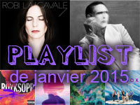 La playlist de janvier 2015