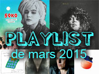 Playlist de mars 2015
