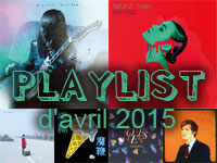 Playlist d'avril 2015