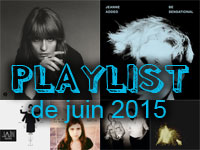 Playlist de juin 2015