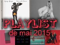 Playlist de mai 2015