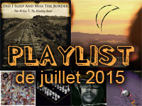 Playlist de juillet 2015