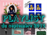 Playlist de septembre 2015