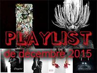 Playlist de décembre 2015