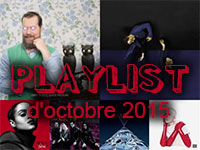 Playlist d'octobre 2015