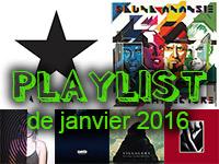 Playlist de janvier 2016