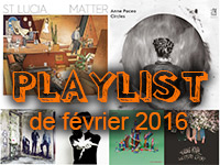 Playlist de fevrier 2016
