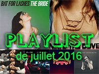 Playlist de juillet 2016