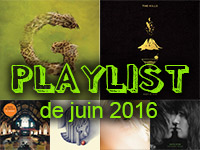 Playlist de juin 2016