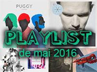 Playlist de mai 2016