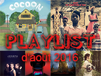 Playlist d'août 2016