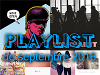 Playlist de septembre 2016