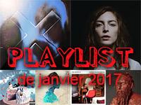 Playlist de janvier 2017