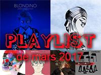 Playlist de mars 2017