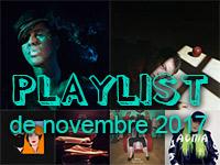 Playlist de novembre 2017