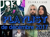 Playlist de décembre 2017