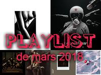 Playlist de mars 2018